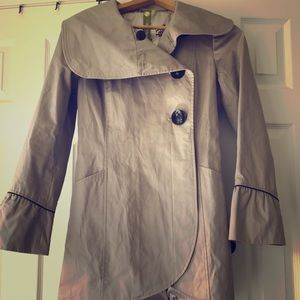 Soia & Kyo Taupe Trench Coat